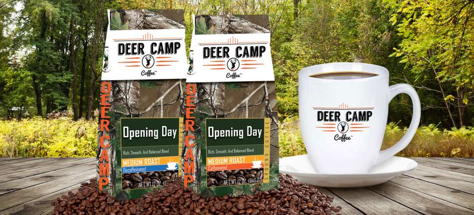 Deer Camp Coffee Opening Day Packages