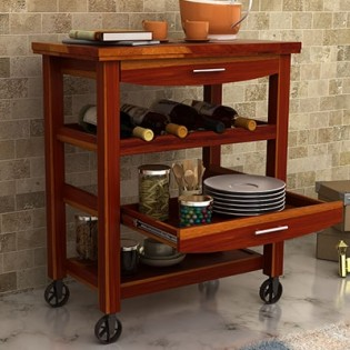 Nedra Kitchen Trolley
