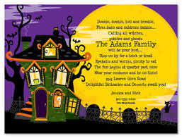 Party Invites for Kids and Adults Halloween Celebration