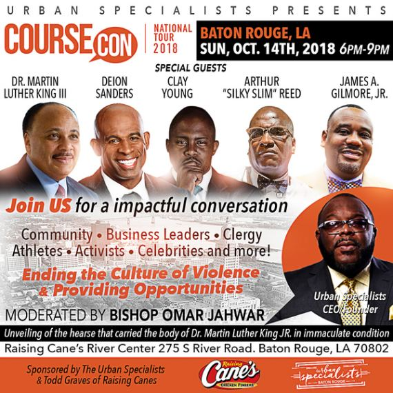 Register for CourseCon Baton Rouge FREE October 14, 2018