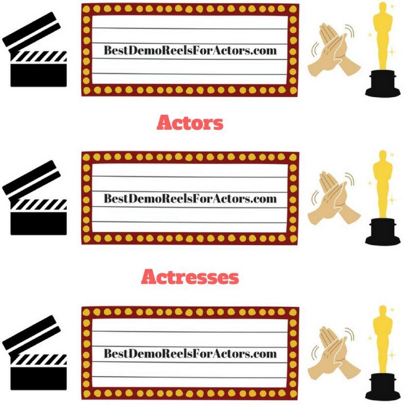 Casting Call: Best Demo Reels For Actors