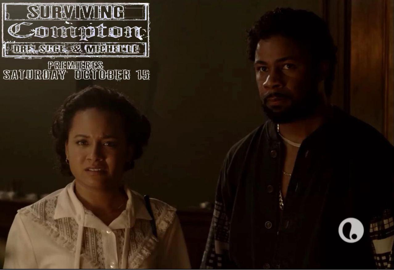 Actors Rhyon Nicole Brown (Michel'le), Kedrick Brown (Alonzo Williams)