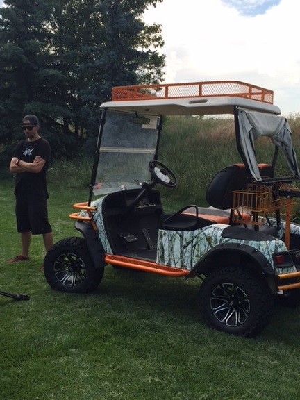 Lithium Boost Battery System in E-Z-GO Golf Featured in The Lifted on