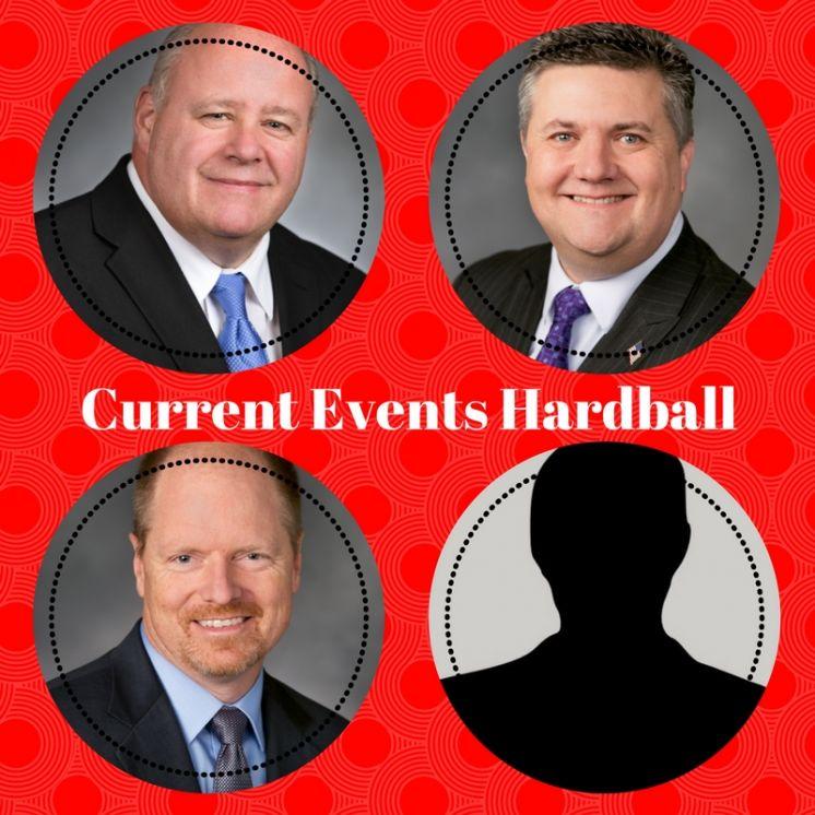 Pearson, Harmsworth, & Kristiansen at public event on September 21st