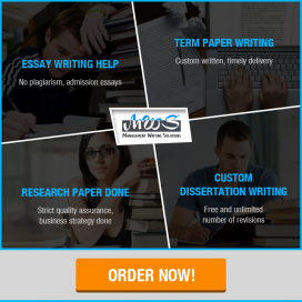 Writing mba assignments