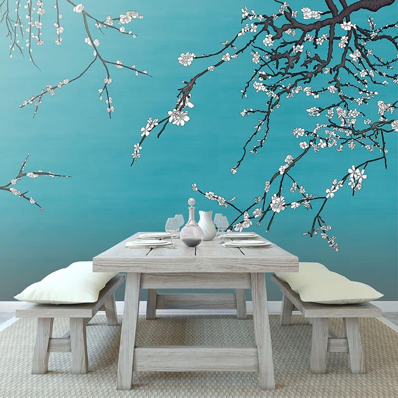 Casart Asia Blossom VanGogh Blue