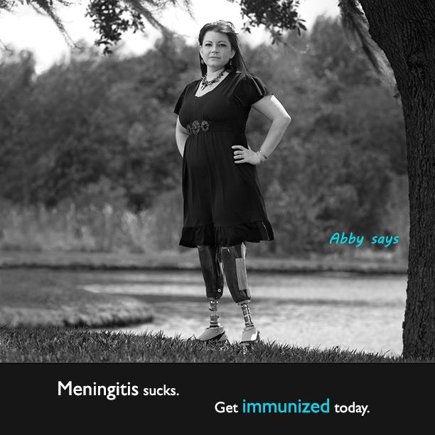 Abby says: Meningitis sucks!