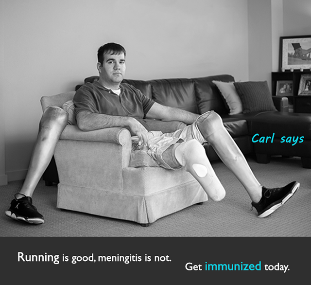 Carl says: Immunize now!
