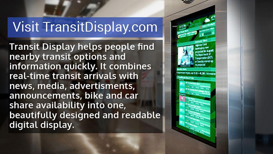 Redmon Group's Transit Display