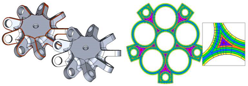 CADfix 11 advanced feature removal and geometry partitioning for CAE