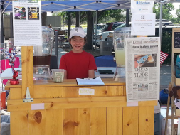 Jack Bonneau, 10-year-old Owner and Founder of Jack's Stands and Marketplaces