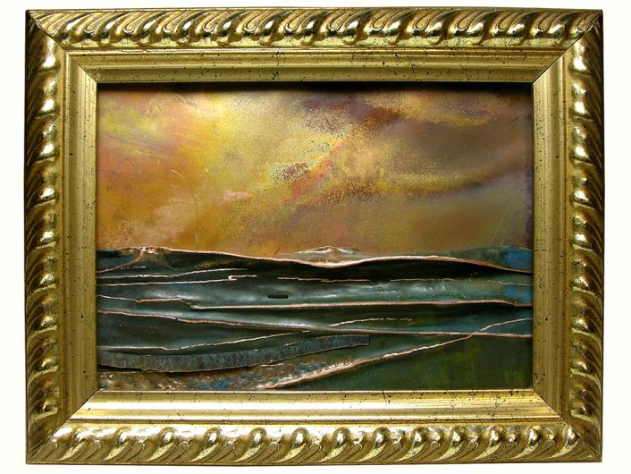 """3rd Place is """"Morning Surf"""" by Denys Knight"""