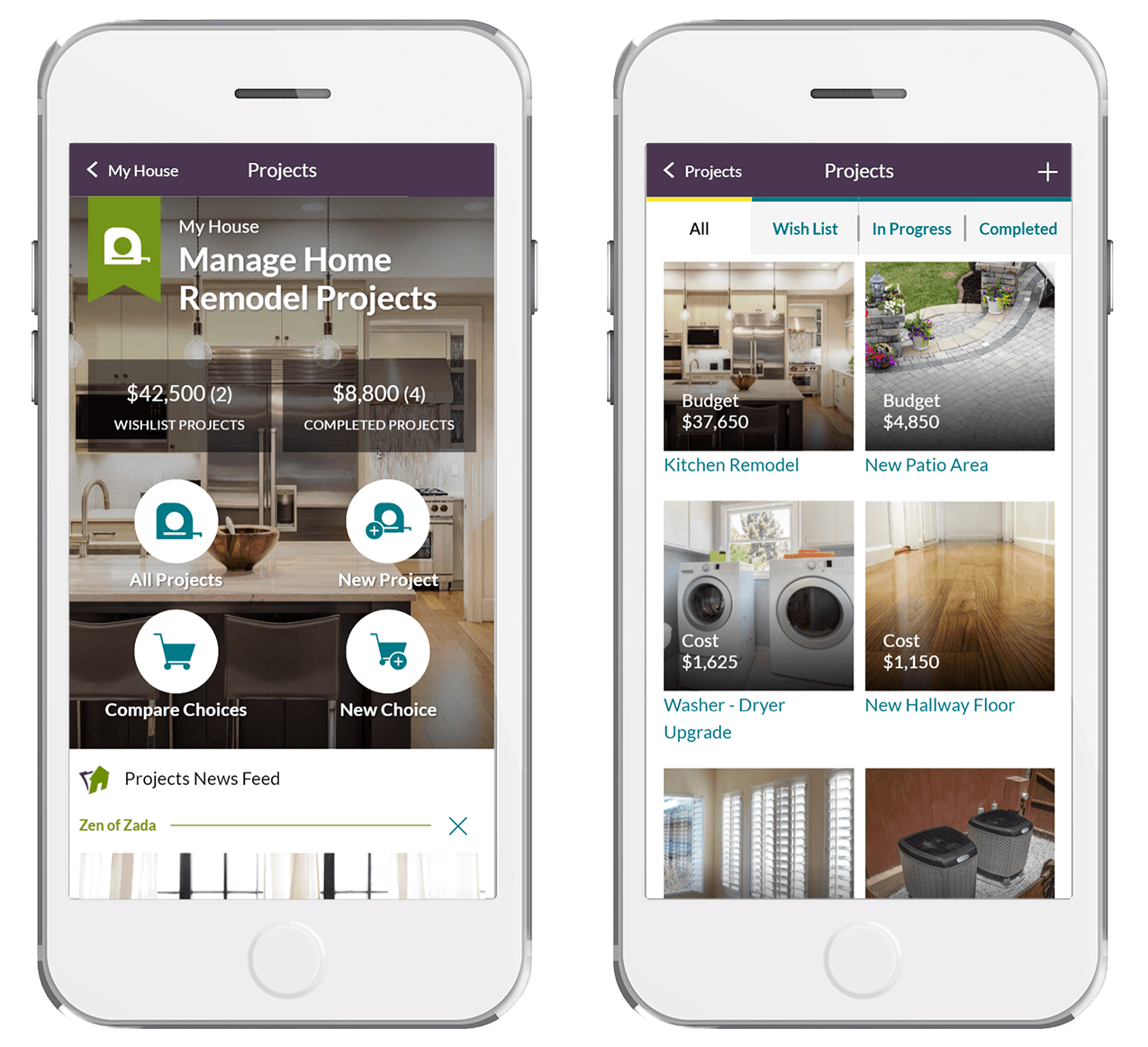 Homezada launches all in one digital home management for Apps for home remodeling