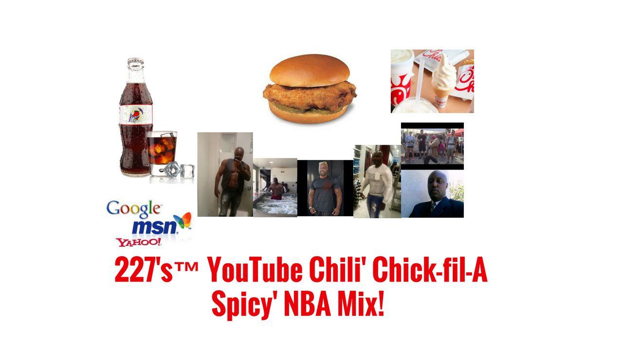 227's™ YouTube Chili' BOISE STATE to PEACH BOWL! @Chick-filAChili NBA Mix!