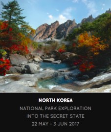North Korea expedition image