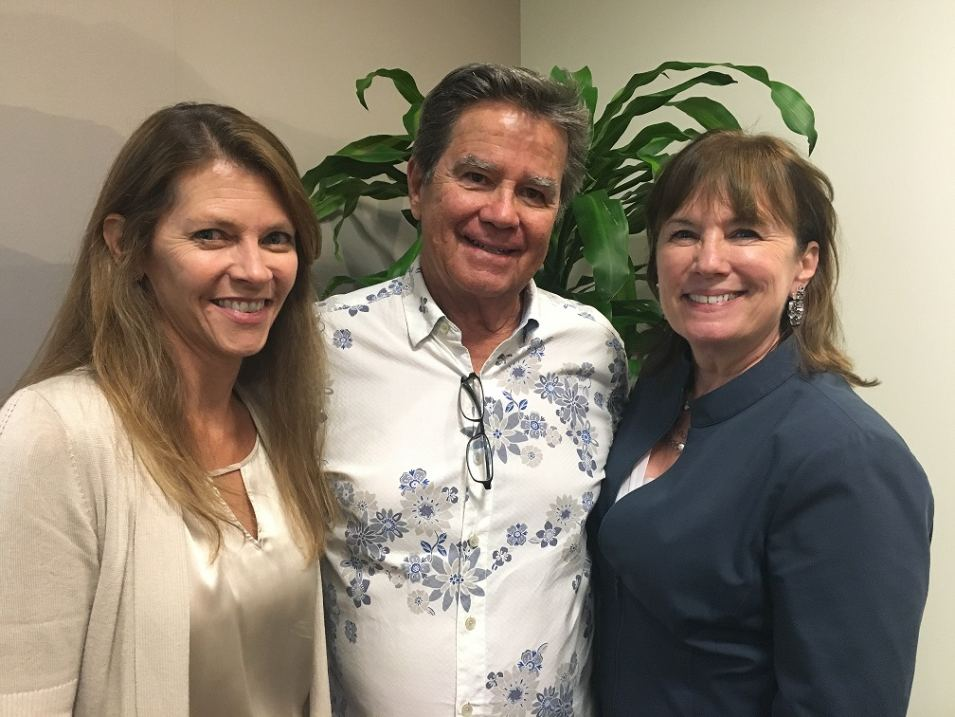 ULI Industry Leaders left to right:  Linda Mamet, John Martin & Beth Callender