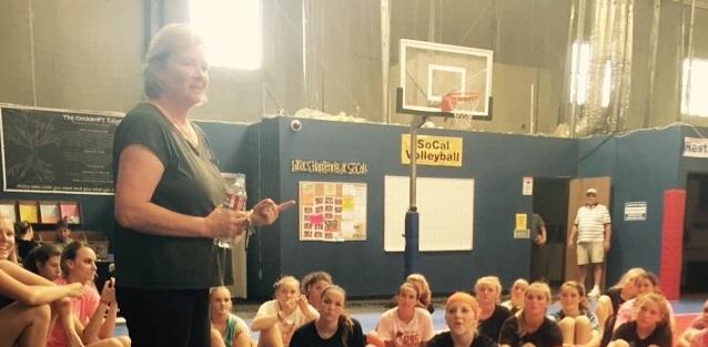 Head Volleyball Coach Karolyn Kirby