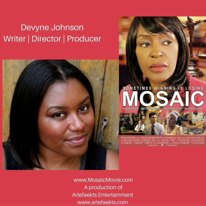 Devyne Johnson, Writer, Director, Producer | Artefaekts Entertainment