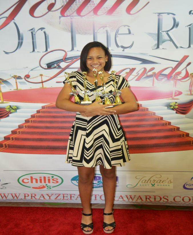 Youth on the Rise Winner Kiyana Kiy Kiy Williams