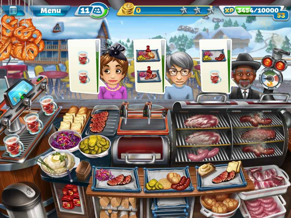 Cooking Fever Smokey Grill BBQ