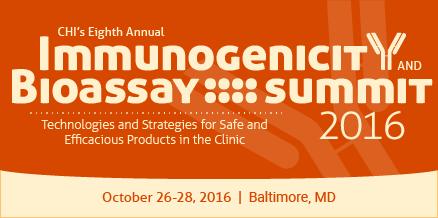 Immunonogenicity and Bioassay Summit 2016