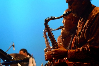 John Coltrane Memorial Concert; photo credit Hakim Raquib