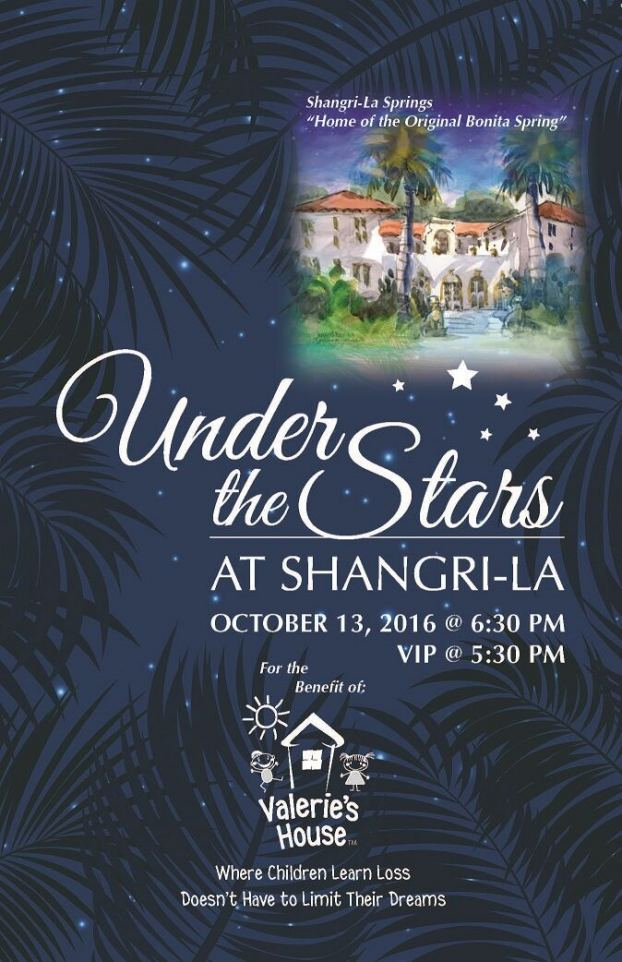 Join us for Under the Stars at Shangri-La!