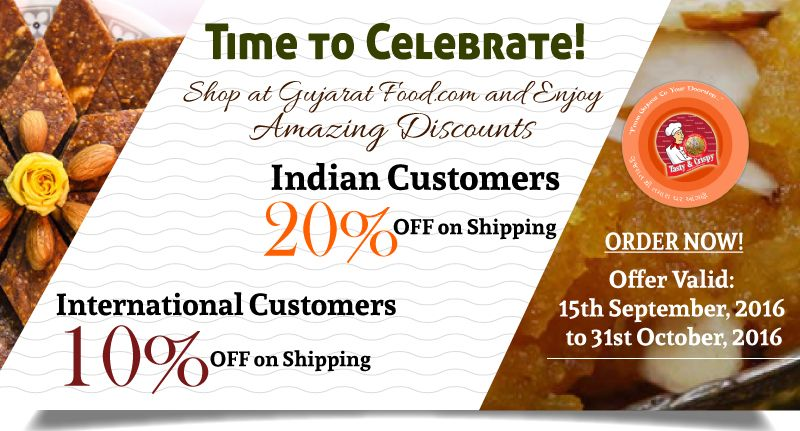Special Discount Offer - GujaratFood.com