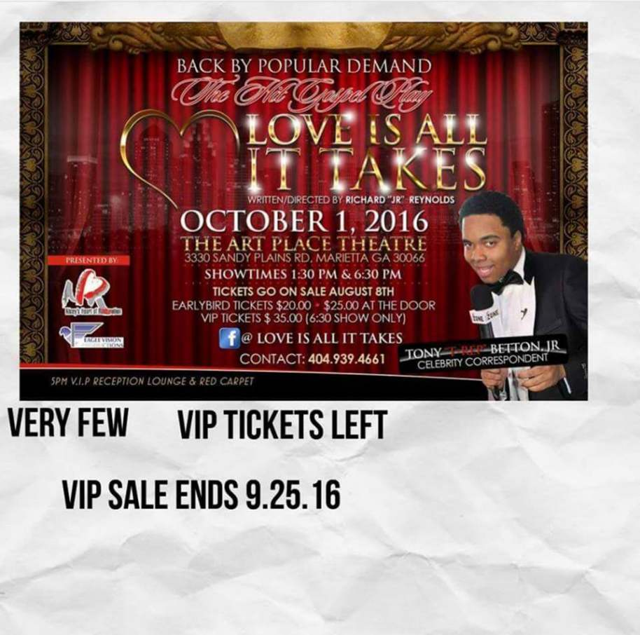 "Gospel Stage Play ""Love Is All It Takes"""