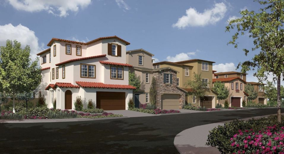 Lennar's South Pointe will bring new homes to Diamond Bar early next year.