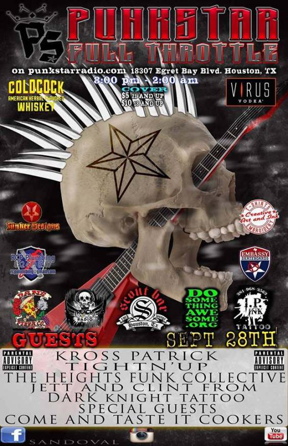 Punkstar FULL Throttle September 28, 2016 ad copy