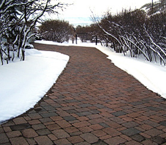 Install A Heated Driveway Melt Your Troubles Away
