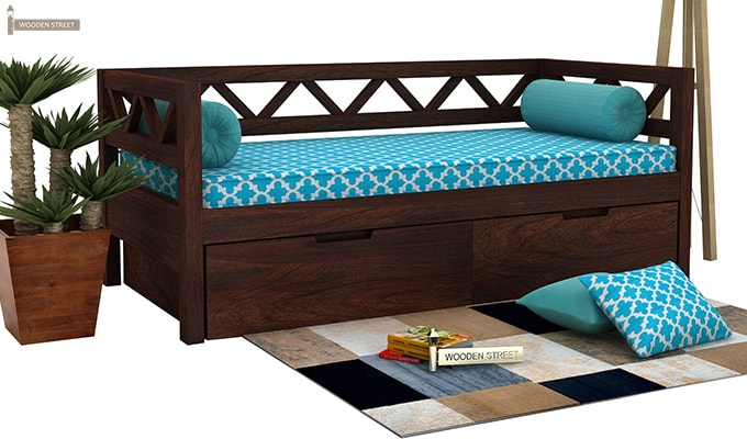 What makes buying divan beds at woodenstreet a practice in for Divan bed india