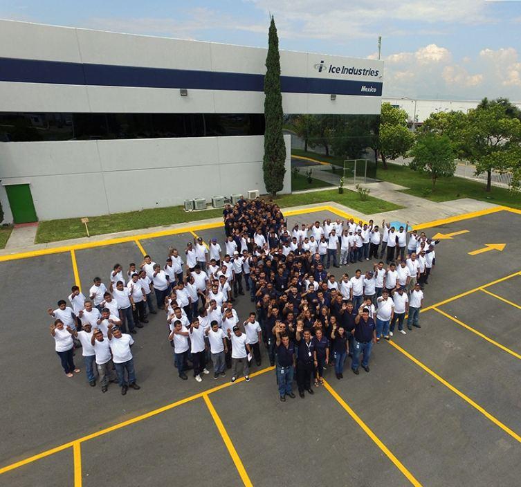 Equipo de Ice Industries Mexico