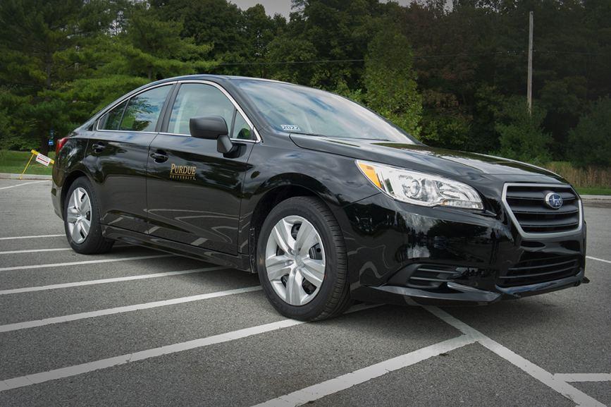 Purdue University took possession of 30 Subaru vehicles.