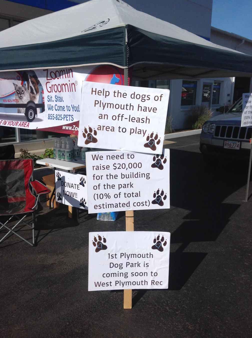 Groomathon To Benefit Plymouth Dog Park