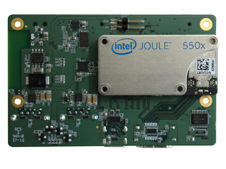 Gumstix Nodana 96BCE (Front) - Powered By Intel Joule Module
