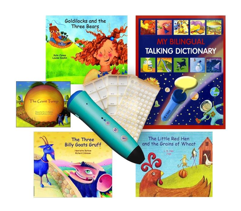 PENpal Starter Set with Bilingual Audio Books & Dictionary