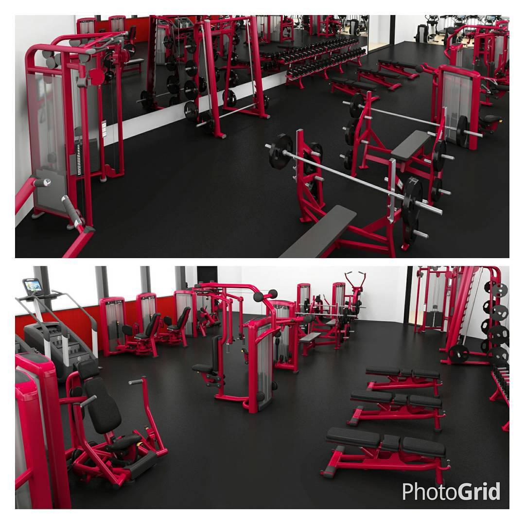 Check out our fitness center