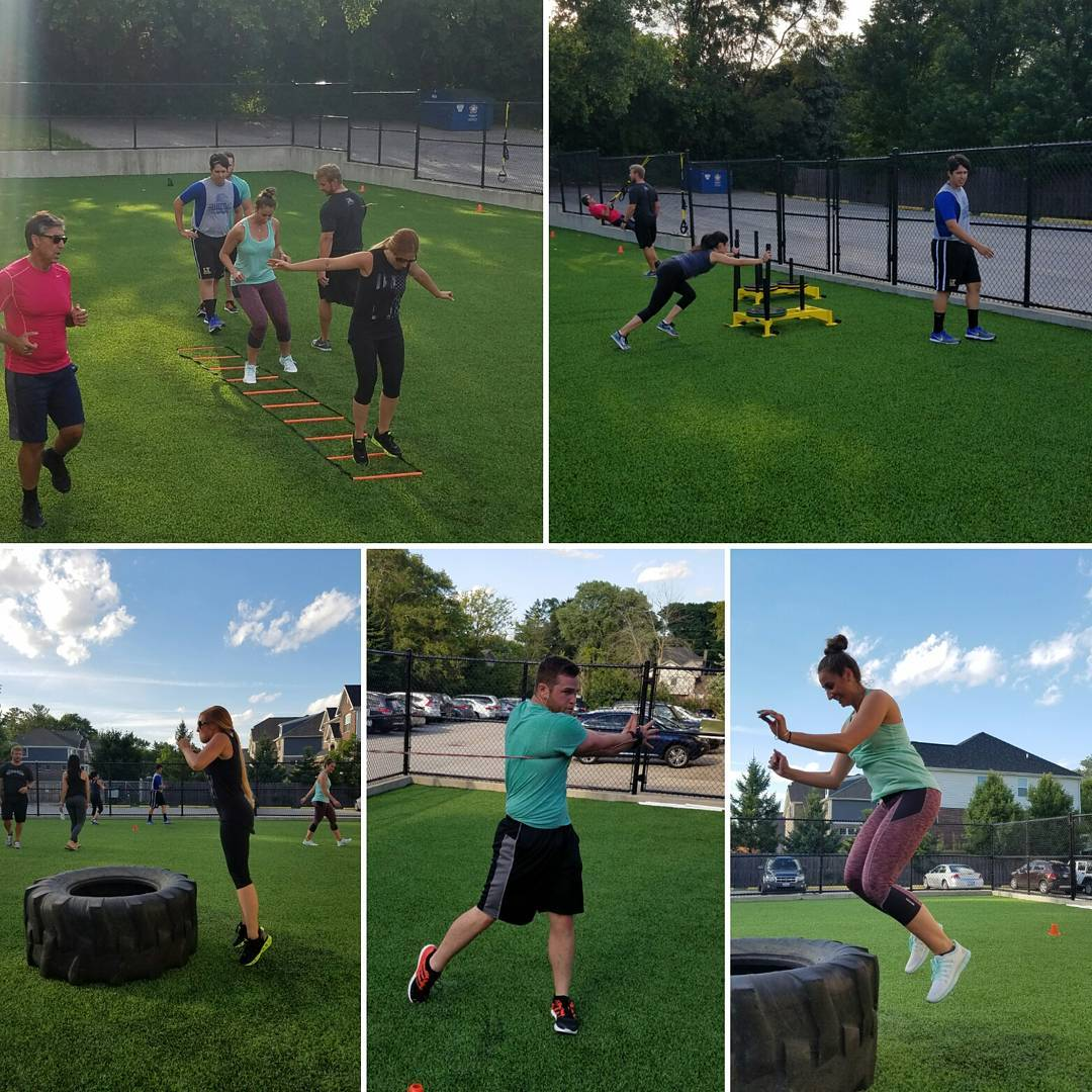 One of our bootcamp classes