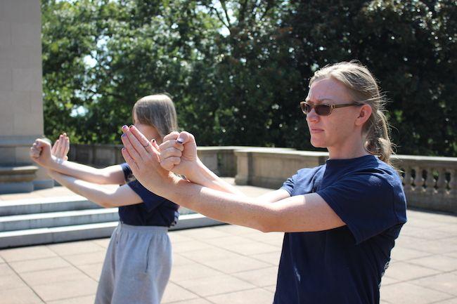 Richmond Moy Yat Kung Fu Academy Women's Program - Pak Dar technique
