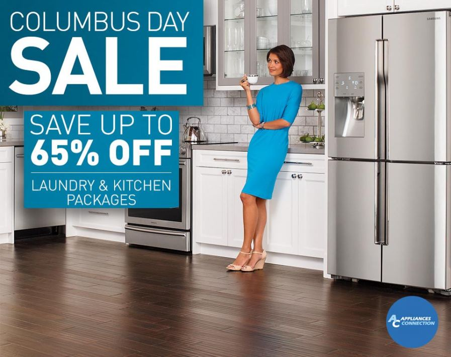 Appliances Connection is offering up to 65% off on select appliances.