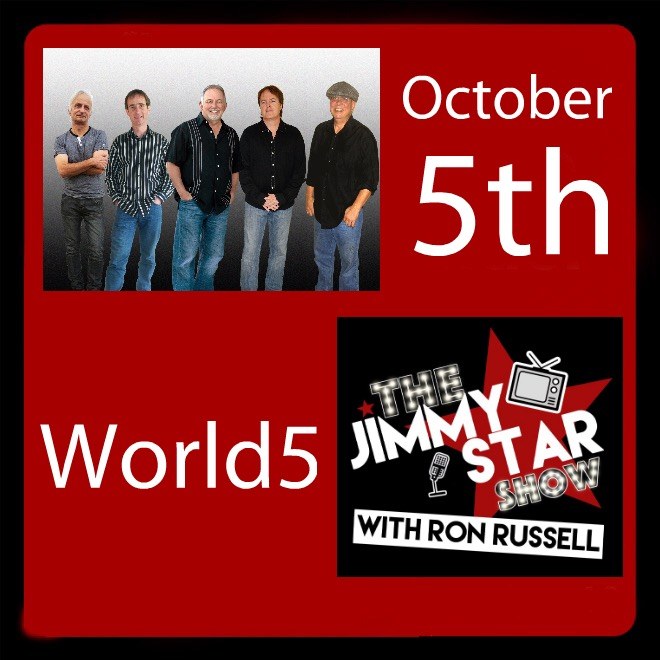 World5 To Guest On The Jimmy Star Show With Ron Russell