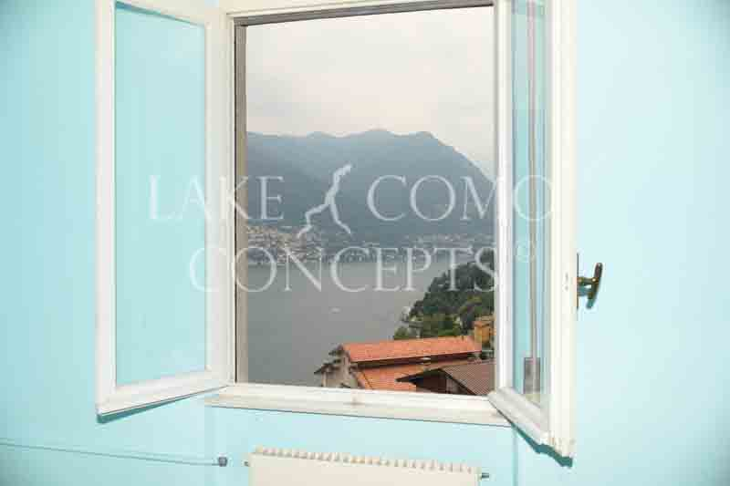 Lake Como Concepts View from Blevio apartments