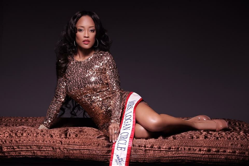 Mrs. DC America 2014 Acting is Dr. Allena Willis Kennerly