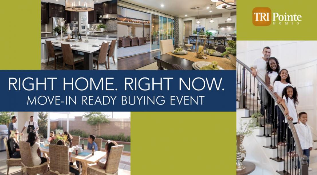 TRI Pointe Homes' Move-in Ready Buying Event -- Kovach
