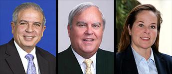 Mayors Tomas Regalado, Jim Cason and Mayra Lindsay