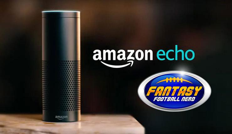 Amazon Echo Fantasy Football Nerd