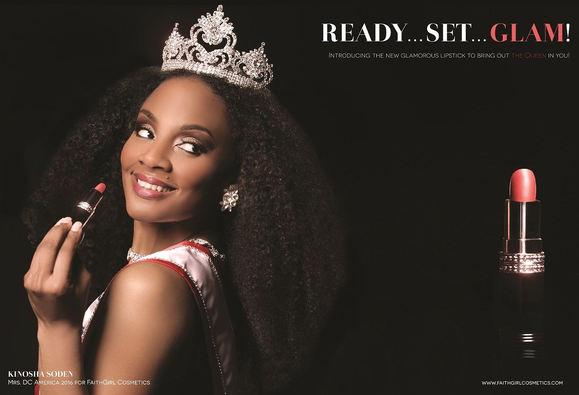 Mrs. DC America Partners with FaithGirl Cosmetics