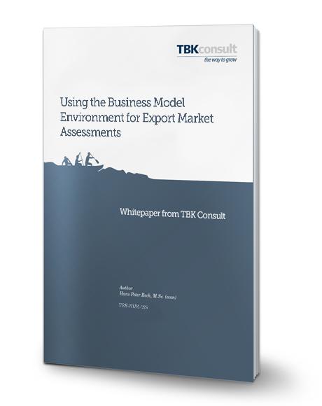 Business Model for Export Market Assessments